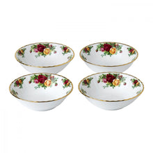 "Load image into Gallery viewer, Royal Albert Old Country Roses Bowl 6.2"" Set of 4"