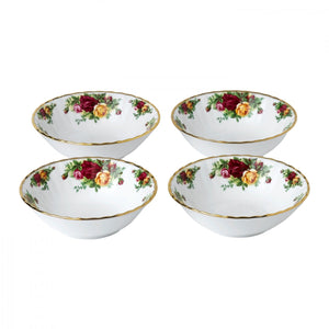 "Royal Albert Old Country Roses Bowl 6.2"" Set of 4"
