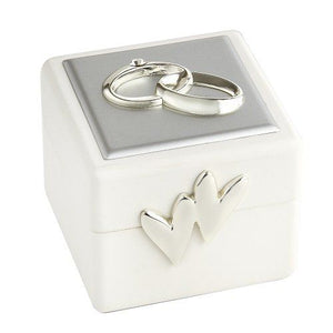 Leeber Wedding Ring Box, Double Rings