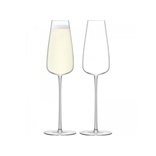 LSA International Wine Culture Champagne Flute Set Of 2