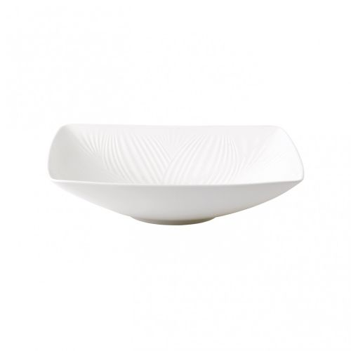Wedgwood White Folia Sculptural Bowl 10.2