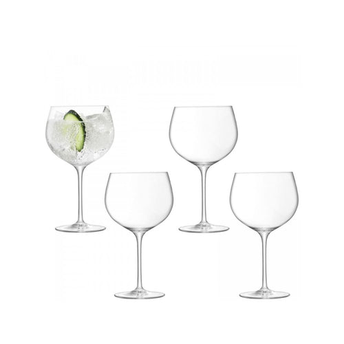 LSA International Set of 4 Gin Balloon Glass 23 fl oz Clear