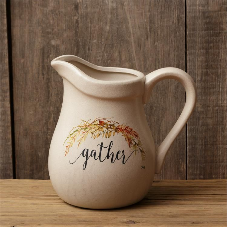 Your Heart's Delight Pitcher - Gather