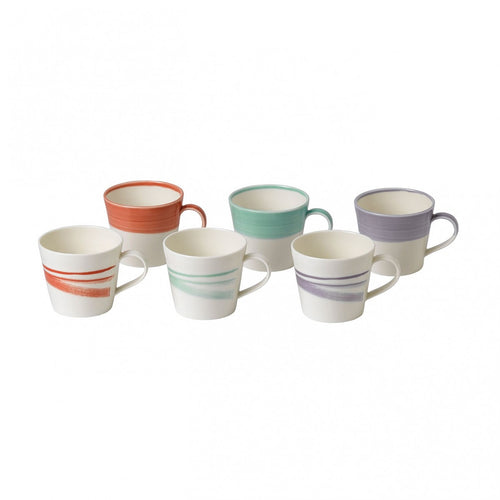 Royal Doulton 1815 Bold Mug 15oz Set of 6