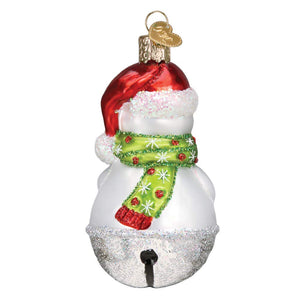 Old World Christmas Jingle Bell Snowman Ornament