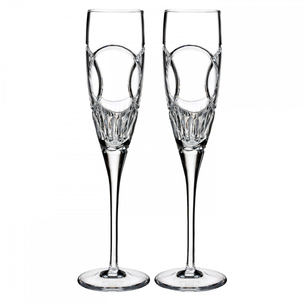 Waterford Love Wedding Vows Flute, Pair