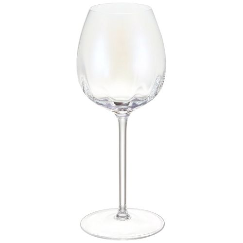 LSA International Pearl White Wine Glass Set Of 4