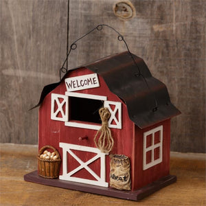 Your Heart's Delight Birdhouse - Barn Welcome