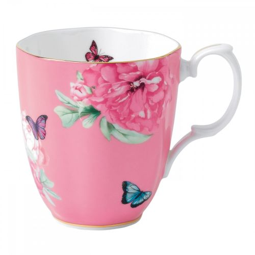 Royal Albert Friendship Vintage Mug , 13.5-Ounce, Pink