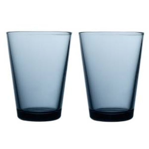 Iittala Kartio Tumbler, Set of 2, 13.5 oz, Rain