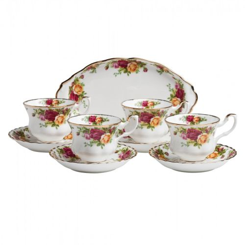 Royal Albert 9-Piece Tea Set Completer