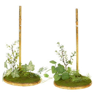 "Mark Roberts Spring Ivy Stand, Large 12"", Assortment of 2"