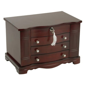 Rita Mele Stand Up Jewelry Boxes In Cherry