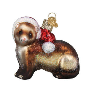 Old World Christmas Christmas Ferret Ornament
