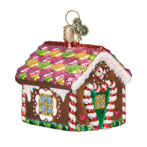 Old World Christmas Gingerbread House Ornament