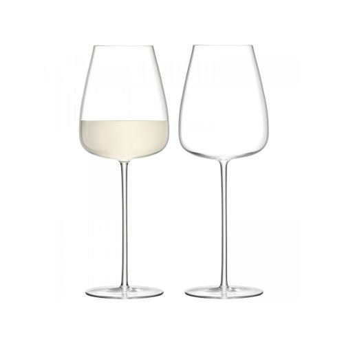 LSA International Wine Culture White Wine Goblet Set Of 2