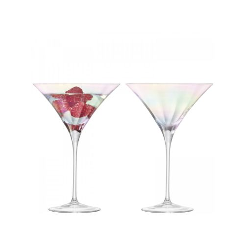 LSA International Pearl Cocktail Glass Mother Of Pearl,S/2