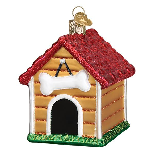 Old World Christmas Dog House Ornament