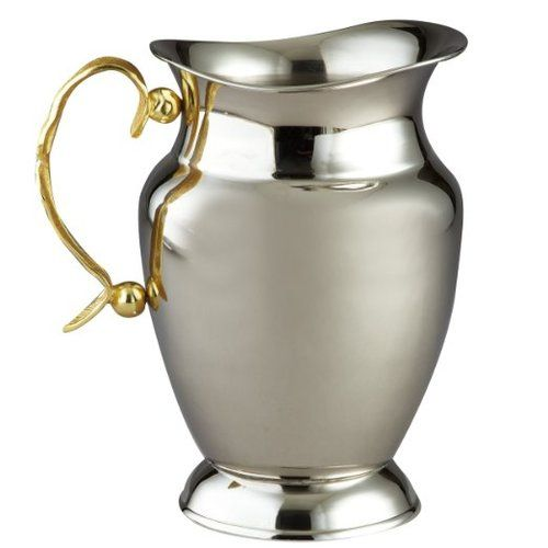 Leeber Gold Feather Water Pitcher, 7