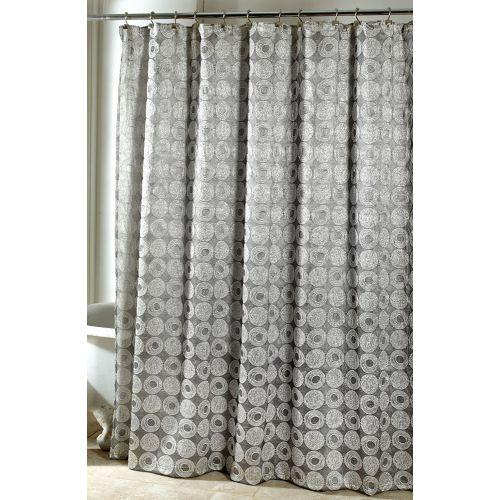 Avanti Linens Galaxy Shower Curtain, Silver