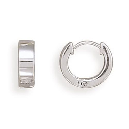 MMA Square Polished Hinged Earrings