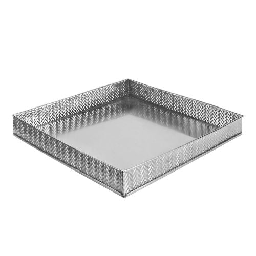 Leeber Stainless Steel Bricks Square Tray