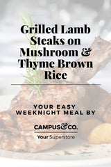 https://campusandcobrisbane.com/collections/grilled-lamb-steaks-on-mushroom-thyme-brown-rice