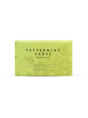 Peppermint Grove Beauty Bar 200g - Lemongrass and Lime