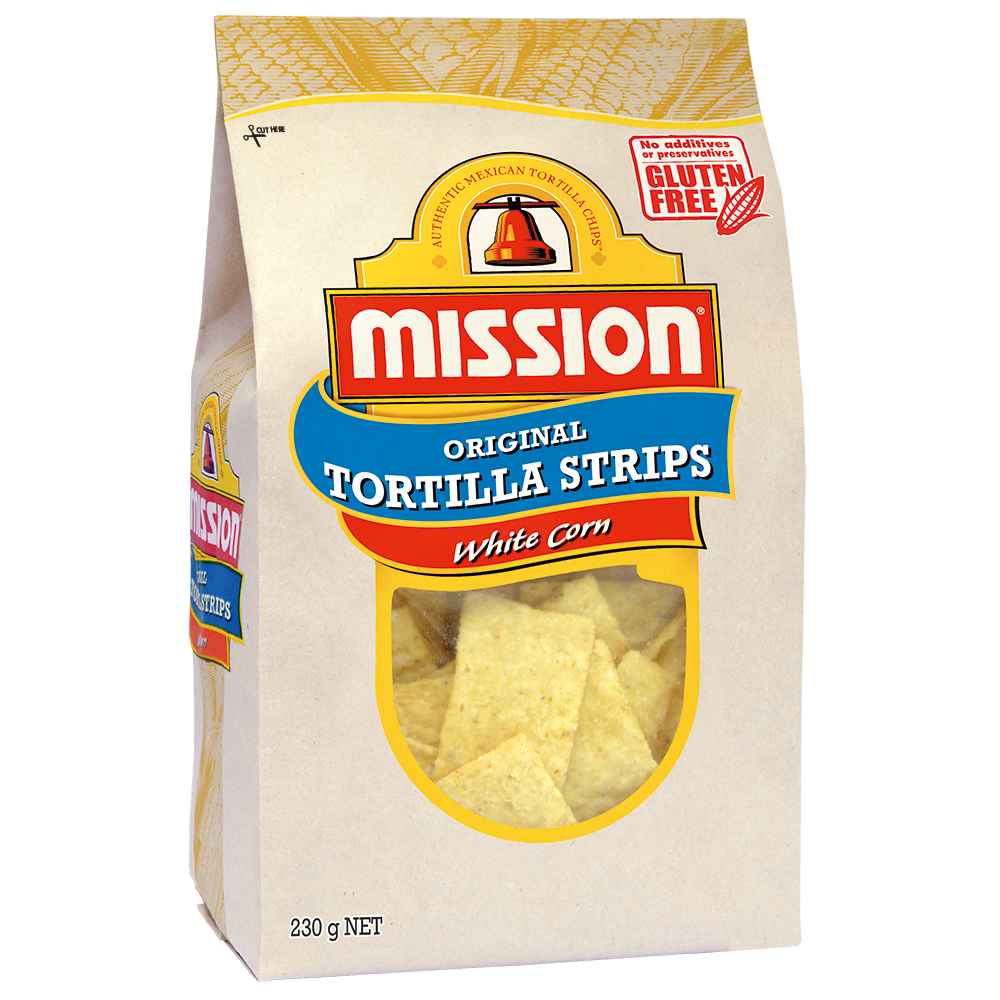 Mission White Corn Tortilla Chips 230gm