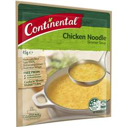 Continental Chicken Noodle Soup Mix 45g