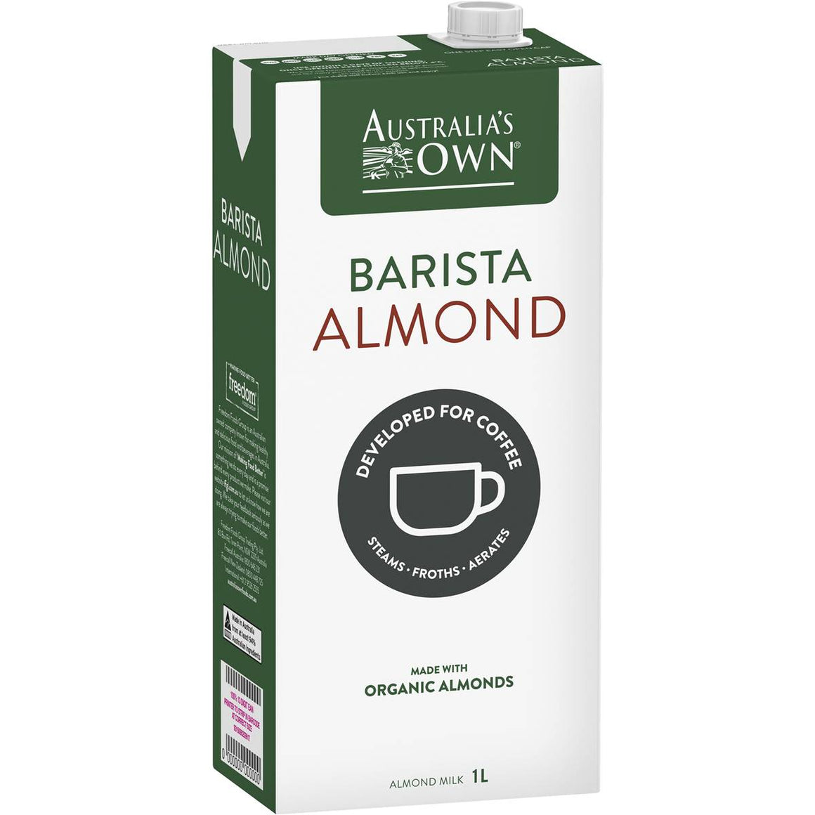 Australia's Own Barista Almond Milk 1L