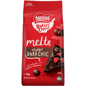Nestle Melts Dark Choc 290g