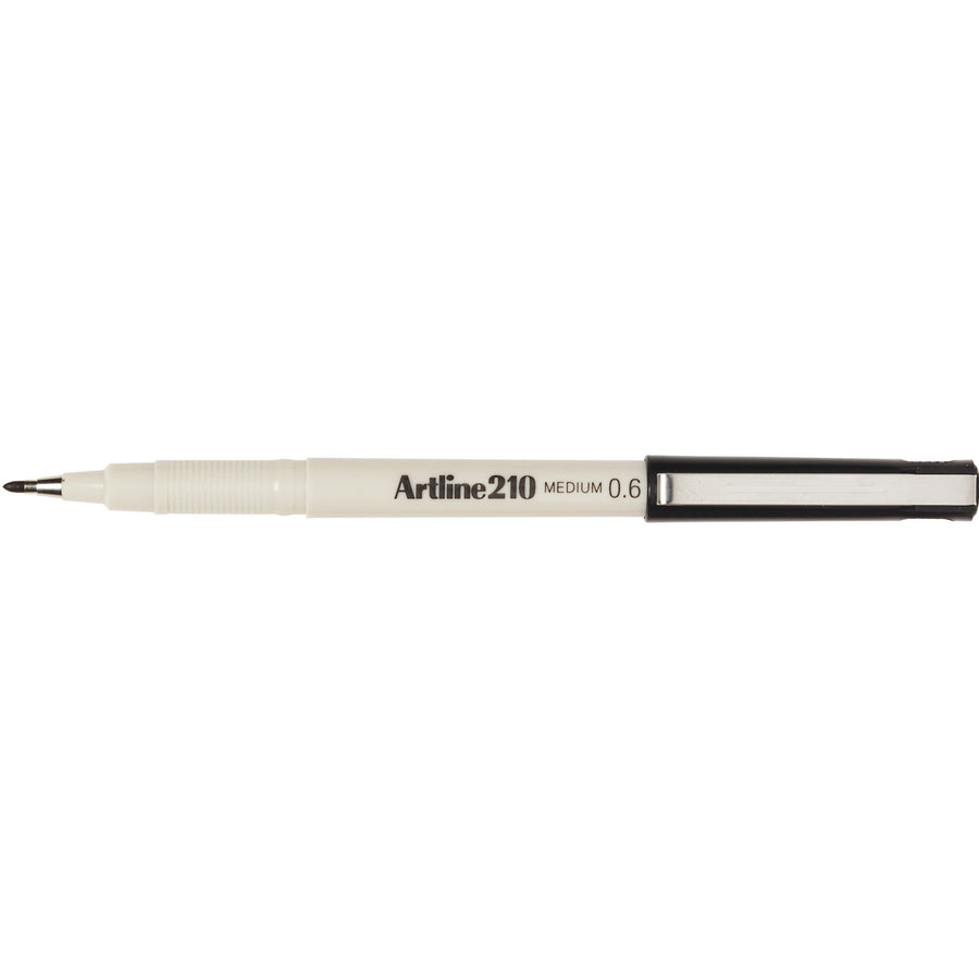 Artline 210 Fineliner 0.6mm Black