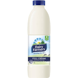 Dairy Farmers Full Cream Milk 1L