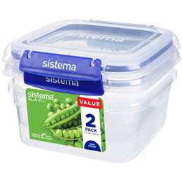 Sistema Klip It Container 1.15L  2 pack