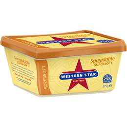 Western Star Supersoft Spreadable 375g