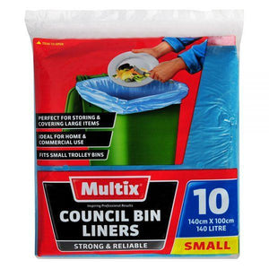 Multix Council Bin Liners 140L 10pk