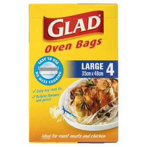 Glad Oven Bags Large 4pk