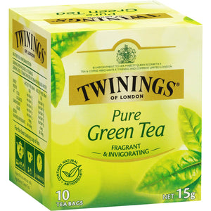 Twinings  Pure Green Teabags 10pk