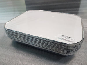 485 Alfoil Trays 314 x 254 x 38mm & Lids 10pk