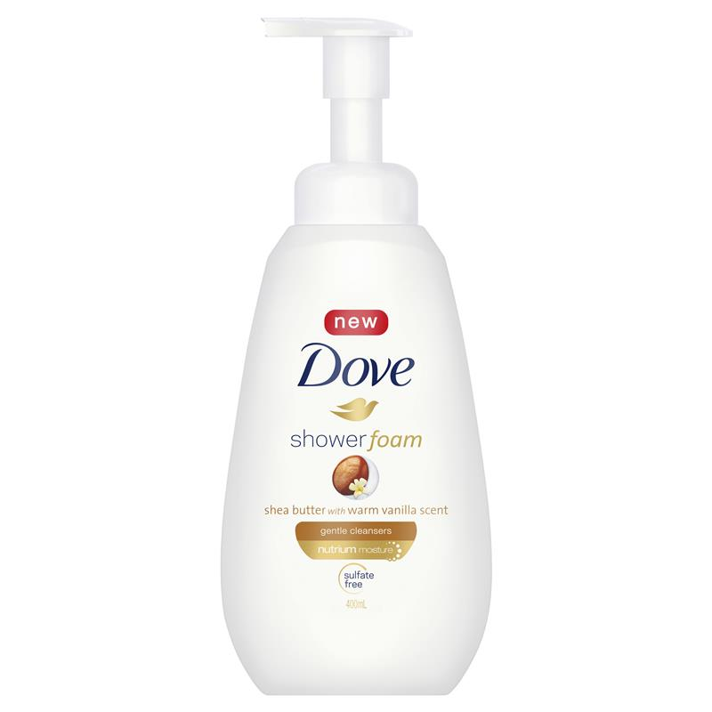 Dove Shea Butter Shower Foam 400ml