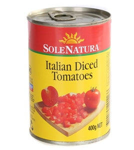 Solenatura Diced Tomatoes 400g