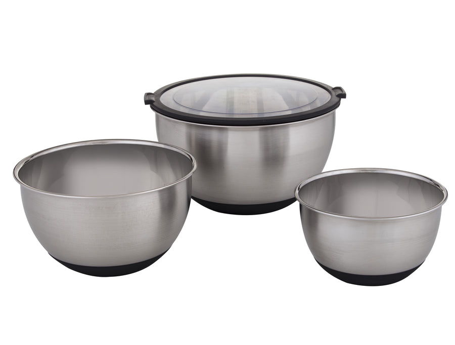 Masterpro Mixing Bowl S/steel set 3