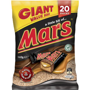 Mars Bar Chocolate Large Party Share Bag 20 Piece 360g