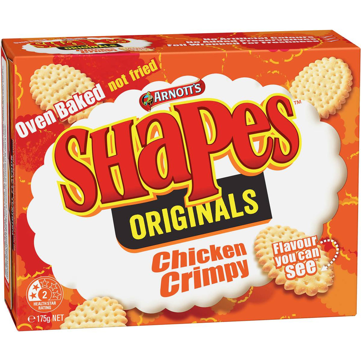 Arnotts Shapes Original Chicken Crimpy 175g