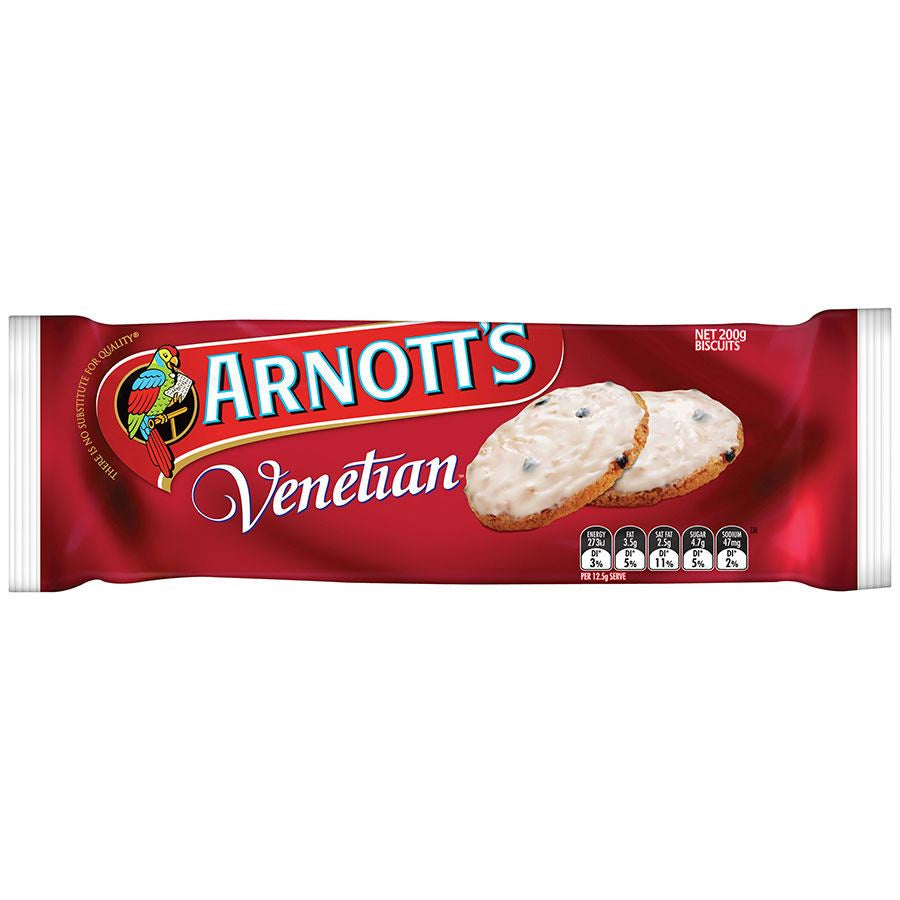 Arnotts Venetian Biscuits 200g