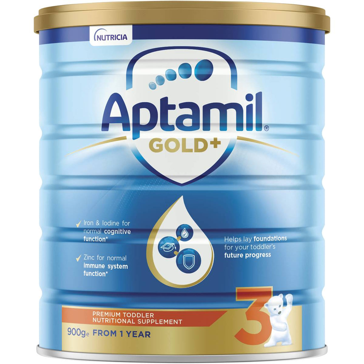Aptamil Gold Infant Formula 12 Mths+ 900g