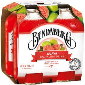 Bundaberg Guava 4 x 375ml