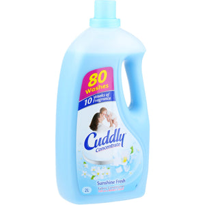 Cuddly Sunshine Fresh Fabric Conditioner 2L