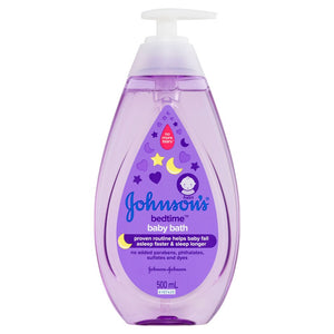 Johnson & Johnson Bedtime Baby Wash 500ml